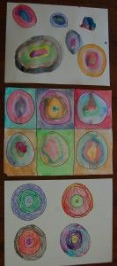 kandinsky circles for preschool
