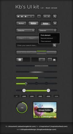 33 Free And Pixel Perfect UI Elements PSDs - acrisdesign.com