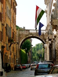 Click here to see my favorite photos of my walk along one of the oldest streets in Rome -  Via Giulia. #rome #italy #travel