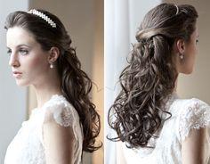 Beleza Noiva: Penteado com Coroa/Tiara « Noiva Nova | Blog de Casamento