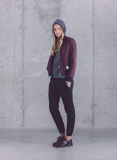 Wemoto — dámská kolekce oblečení jaro/léto 2015 / Wemoto — womens fashion — spring/summer 2015  #bomber #jacket #pants #bunda #kalhoty #wemoto #streetwear #fashion #german