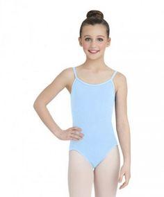 Dance Gear LEILA Children/'s Cotton Lycra Sleeveless Camisole Leotard