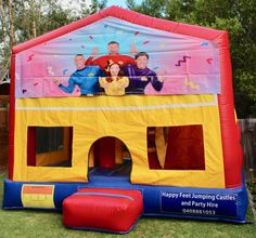 We offer free delivery within a radius of Cooroy & provide quality jumping castles to Gympie Council and Sunshine Coast Council residents. Party Hire, Obstacle Course, Basketball Hoop, Sunshine Coast, Sun Protection, Castles, Toy Chest, Book, Happy