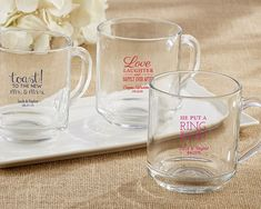 Whether you're using your mason jars for wedding favors or to make a heartfelt toast at your reception, they will beautifully complement all...