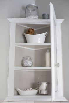 Cute Corner Storage Cupboard