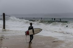 East coast storm: Sydney and Newcastle hit by 125km/h winds ...