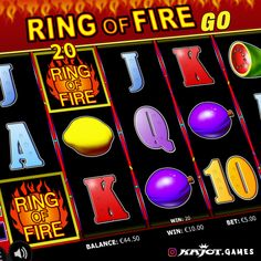 Why play normally, if you can have the whole thing in blazing Extra-Large? The legendary Ring of Fire Go flames even more devilishly. Keep a cool head and maximize your chances to win with up to 90 hot bonus games. Cool Headed, Up And Running, Online Casino, Fire, Entertaining, Play, Cool Stuff, Games, Rings