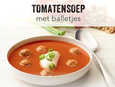 Tomatensoep met balletjes