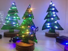 Fusion Art Christmas trees at Booth light up.The One of a Kind Show in Toronto takes place Nov. 24 to Dec. Christmas Craft Show, Christmas Trees, Fusion Art, Light Up, Toronto, Stuff To Do, Things To Do, Events, Holiday Decor