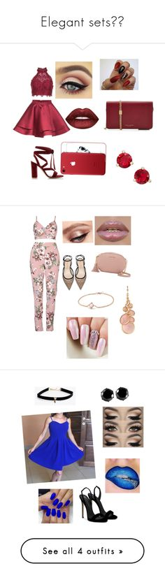 """""""Elegant sets❤️"""" by alylovefashion ❤ liked on Polyvore featuring Alyce Paris, Gianvito Rossi, Lime Crime, Marc Jacobs, Kate Spade, MICHAEL Michael Kors, David Yurman, Avon, Giuseppe Zanotti and West Coast Jewelry"""