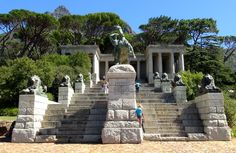 Have lunch at Rhodes Memorial, and take in the views of the northern and eastern suburbs of Cape Town. The memorial has 49 steps - one for each year of Rhodes's life.
