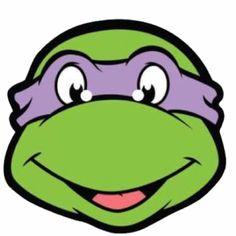 Teenage Mutant Ninja Turtles Donatello Party Masks - Ninja Turtles - Party Themes A-Z - Kids' Party Ninja Turtle Party, Ninja Turtle Mask, Ninja Party, Ninja Turtle Birthday, Michelangelo, Teenage Mutant Ninja Turtles, Ninja Birthday Parties, 5th Birthday, Birthday Stuff