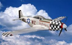 P51 Mustang Large Scale RC Planes Silver With Retracts ARF - http://www.nitrotek.co.uk/241.html