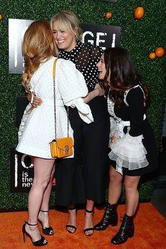 Taylor Schilling, Natasha Lyonne and Yael Stone, premiere season 5 OITNB