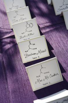 Neurotransmitter Escort Cards