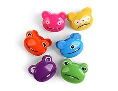 Kikkerland Design Inc » Products » Bag Clips 6 Set + Crazy Monsters