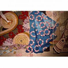 "Frida Hansen / absolutetapestry.com  ""Salomes dans, detalj"" (Salome´s Dance, detail)"