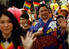 Desfile del orgullo gay en Tokio
