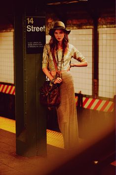 #TBT: Karlie Kloss in the Best NYC Campaign Ever // Free People // New York City // boho chic