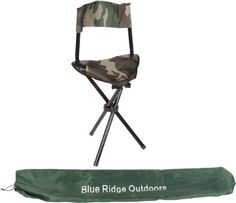 Cool! :)) Pin This & Follow Us! zCamping.com is your Camping Product Gallery ;) CLICK IMAGE TWICE for Pricing and Info :) SEE A LARGER SELECTION of camping chairs at http://zcamping.com/category/camping-categories/camping-furniture/camping-chairs/ -  #hunting #camping #portablechair #campinggear #foldingchair #campingchair #chair #campingaccessories - Blue Ridge Outdoors Camouflage 3 Leg Style Design Chair « zCamping.com