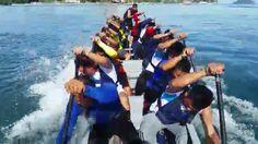 MoE paddlers training @ 2nd FCAS sabah dragonboat race 2015