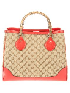 Tote by Gucci - I've never been a fan of orange but I love this!