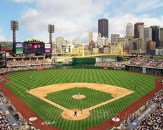 PNC Park, 115 Federal St, Pittsburgh, PA (home of the Pittsburgh Pirates since 2001)