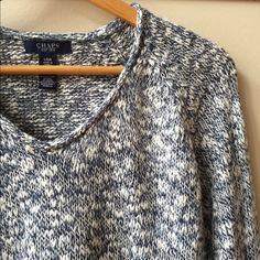 Marled sweater Beautiful chaps sweater, so comfortable, small v-neck Chaps Sweaters V-Necks
