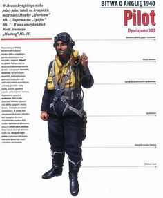Polish pilot flying for Britain in 1940 Spitfire Supermarine, Military Archives, Central And Eastern Europe, Armed Forces, World War Two, Ww2, Victorious, Air Force, Aviation