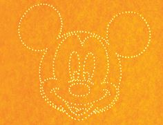 DIY Mickey Mouse Night Light (includes free printable template)