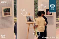 3er. Foro Cultural. Exposiciones de fotografía y pintura.
