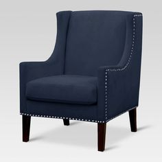Add a touch of elegant sophistication to your living space with a Jackson Upholstered Wingback Chair. This upholstered armchair is a modern take on a classic. Upholstered Chairs, Chair Cushions, Swivel Chair, Wingback Chairs, Living Room Chairs, Living Room Furniture, Furniture Chairs, Dining Chairs, Desk Chairs
