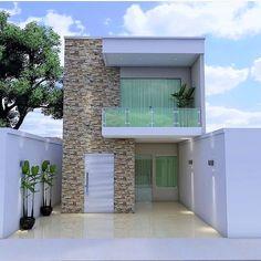 Home Building Design, Contemporary House Design, Small House Design, House Floor Design, Bungalow House Design, Duplex House Design, Modern House Exterior, Home Design Plans, House Exterior