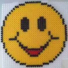 Smiley perler beads