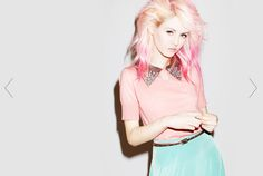 MAJOR PROPS to forever21 for getting Charlotte Free for their newest lookbook!  seriously... thumbs up