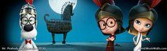Mr. Peabody and Sherman dual screen wallpaper