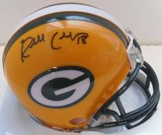 Randall Cobb Signed Autograph Green Bay Packers Mini Helmet Authentic Certified Coa by RIDDELL. $89.99. hand signed mini helmet . will come with a coa and 100% money back if you are not happy .