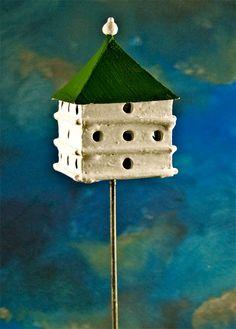 Martin house--miniature birdhouse