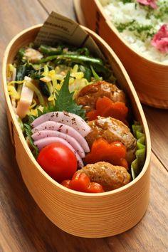 つくね団子の照り煮弁当 : Linmal's Kitchen ~金沢の旬の味と毎日のお弁当
