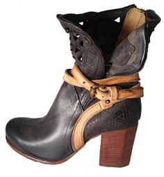Low boots with heel, by Airstep AS 98, summer 2016