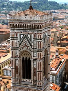 Giotto's bell tower, Florence.