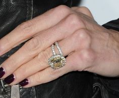 Real Housewives of Beverly Hills Taylor Armstrong's diamond wedding rings Diamond Wedding Rings, Diamond Engagement Rings, Jewelry Rings, Jewelery, Celebrity Engagement Rings, Housewives Of Beverly Hills, Celebrity Jewelry, Thumb Rings, Real Housewives