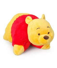 Take a look at this Winnie the Pooh Winnie the Pooh Pillow Pet on zulily today! Disney Pillow Pets, Disney Plush, Baby Disney, Winnie The Pooh Plush, Winnie The Pooh Friends, Winie The Pooh, Baby Boy Nursery Decor, Themed Nursery, Daddys Little Princess