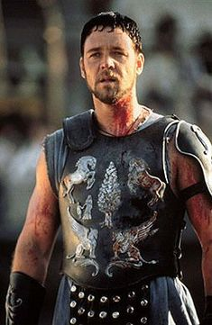 The Gladiator, Maximus-Russell Crowe Gladiator Cast, Gladiator Maximus, Gladiator Movie, Gladiator 2000, Gladiator Tattoo, Movie Characters, Series Movies, Russell Crowe Gladiator, Hot Men