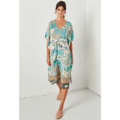 bed22ec95864 Spell & The Gypsy Collective Cloud Dancer Kaftan in Porcelain - Sun Kissed  Diary Cloud Dancer