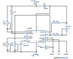 Function generator circuit diagrams schematics electronic function generator circuit asfbconference2016 Choice Image