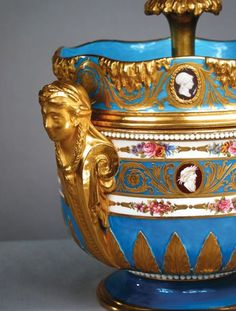 Sevres ice cream cooler, 1778.