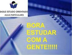 ORGANIZAÇÃO -  CRIAÇÃO DE MÉTODO E  ROTINA DE ESTUDO - BORA ESTUDAR COM A GENTE!!!!!!!!!!!!!!!!!  ✏Aulas particulares de todas as matérias do ensino fundamental até o superior inclusive.   CURSO UNIFICADO DE REDAÇÃO E LITERATURA para a Fuvest  ✏ VESTIBULAR  VESTIBULINHO  ESTUDO ORIENTADO  ORIENTAÇÃO VOCACIONAL  ✒COACHING PSICOPEDAGÓGICO   Curso de fotografia  Rua Cerro Cora, 613   Estacionamento ao lado no Colline (temos convênio) 3022-2263 3022-2264 www.basileestudoorientado.com.br…