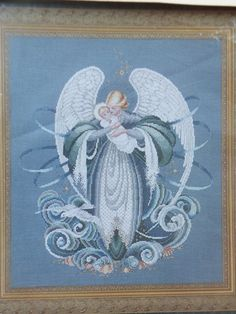 Angel of the Sea Cross Stitch Pattern by jebstreasures on Etsy, $8.00