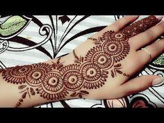 New trick Bottle Cap mehndi design Mehndi Art, Henna Mehndi, Henna Art, Mehendi, Hand Henna, Arabic Henna, Henna Tattoo Designs Arm, Mehandi Designs, Latest Henna Designs
